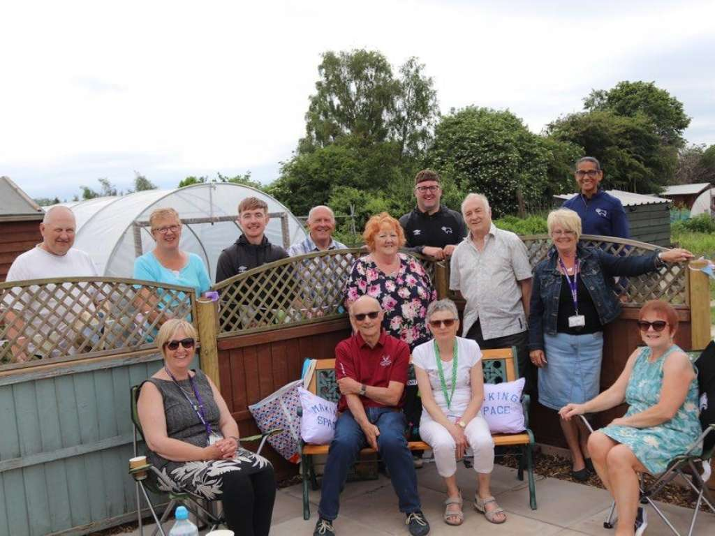 Gardening project launched for people living with dementia and their carers in Derby