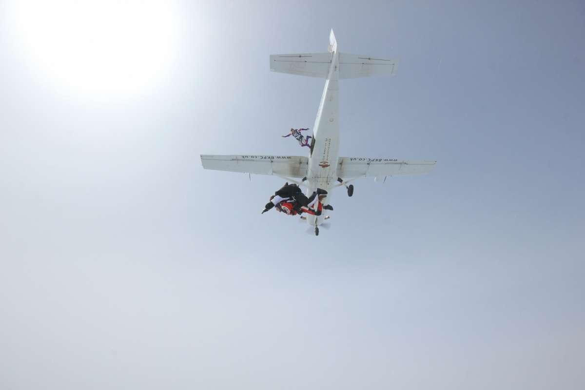 Jamie's skydive