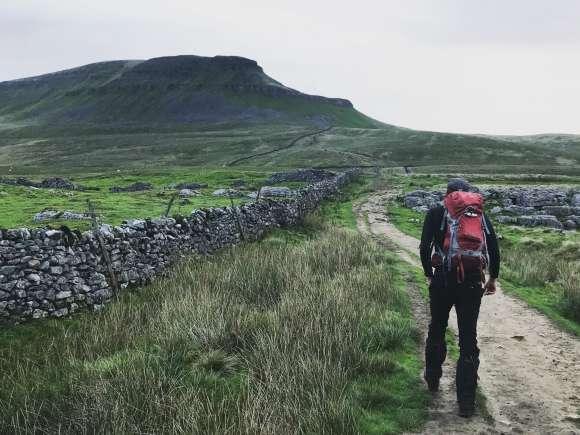 Making Space staff take on grueling Yorkshire Three Peaks
