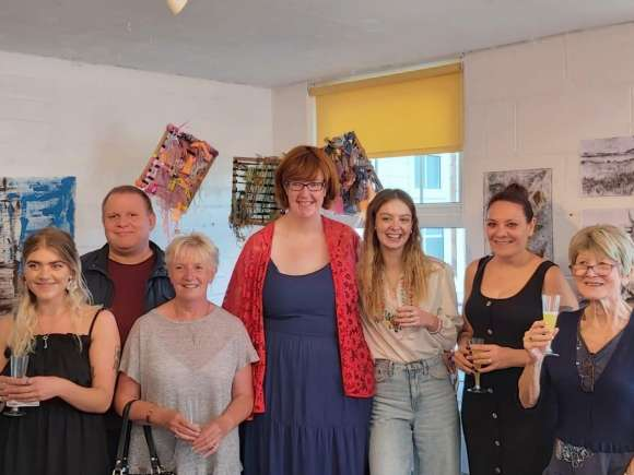 Warrington Day Service get involved in 'Art To Happiness' exhibition