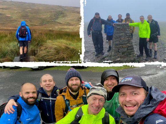 Watch our staff take on the Yorkshire 3 Peaks