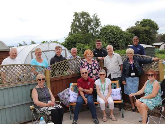 Gardening project launched to support people living with dementia and their carers in Derby