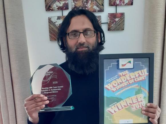 Yorkshire team leader wins national award