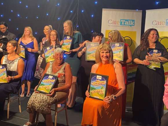 Passionate volunteer and fundraiser wins national award!